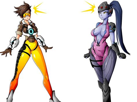 Tracer Memes - tracer and widowmaker by witchking00 overwatch know your meme