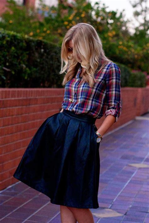 22 Cute Ways To Wear A Midi Skirt