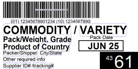 Do Your Labels Adhere To The Produce Traceability Initiative?