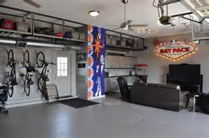 Garage into Man Cave