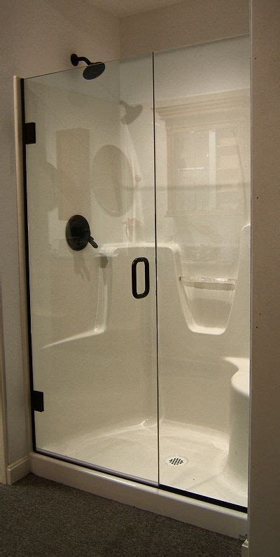 Fiberglass Shower Door fiberglass shower doors shower with a semi frameless