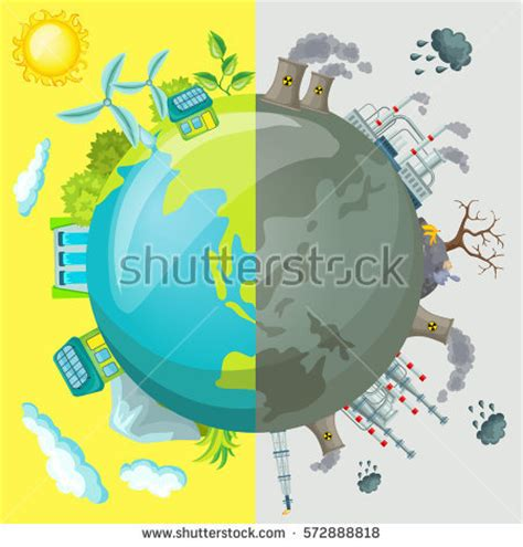 download free templates ecological icons tree after effects ecology cartoon comparative concept clean planet stock