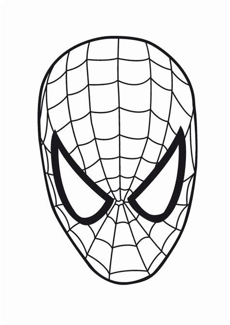 spiderman face template   clip art