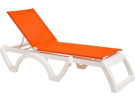 chaises grosfillex grosfillex calypso sling adjustable chaise sold in 2