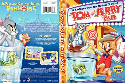 tom and jerry tales volume 2 bookcover miniature books miniatures american