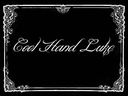 Silent Cool Hand Card Title Luke Preparing