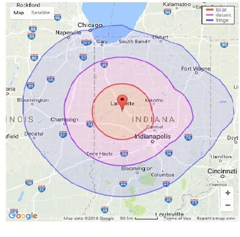 Coverage Maps | WBAA