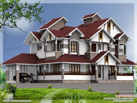 luxury kerala house design plans normal house  kerala