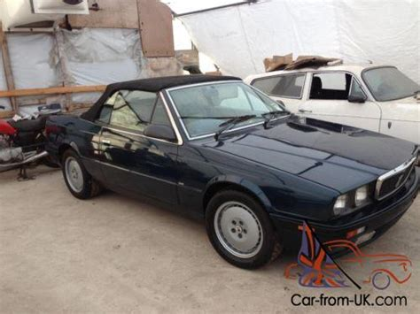 auto air conditioning repair 1989 maserati spyder electronic toll collection 1994 maserati spyder bi turbo project
