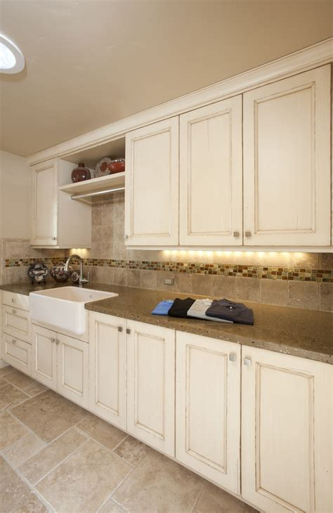 laundry room hanging rod Laundry Room Transitional with