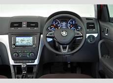 Skoda Yeti interior Autocar