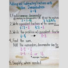 25+ Best Ideas About Adding Fractions On Pinterest  Adding And Subtracting Fractions, Addition