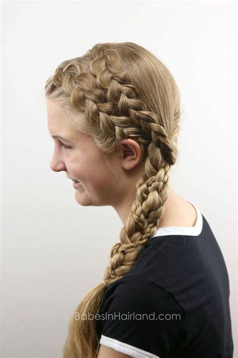 double dutch braided braid babes  hairland