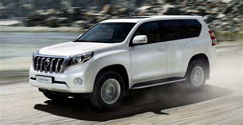 toyota prado facelifted suv   october