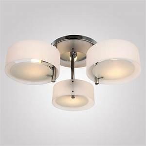 Inspirational ceiling mounted light for semi flush