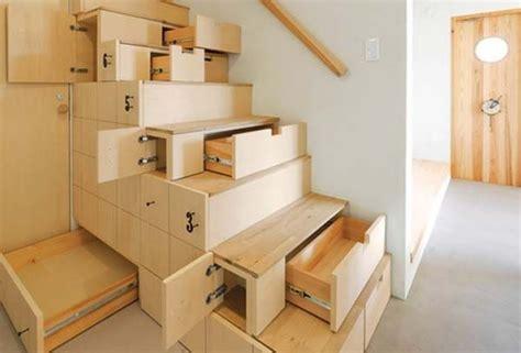 stairs kitchen storage 10 clever stairs storage ideas hative 6569
