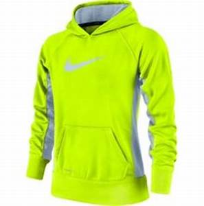 Girls Lime Green Nike Sweatshirt