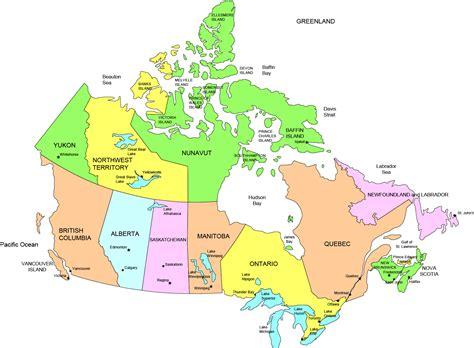 pin canada provinces map  capitals  pinterest