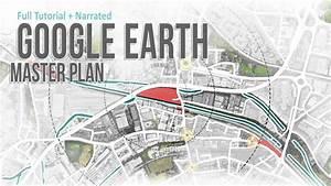 Google Earth Master Plan In Photoshop   Quickest Method
