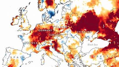 Drought European Groundwater Maps Satellite Scitechdaily Signs