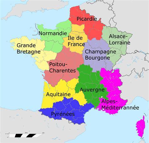 Nouvelle Carte De Par Region by Afficher L Image D Origine G 233 Ographie