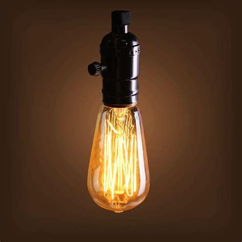 40w e27 st58 edison bulb antique filament l retro