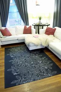 Floored by design 11 diy rug projects for Diy fabric carpet