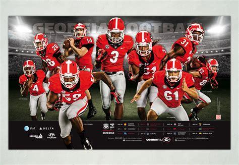 The Adsmith Uga Football Posters