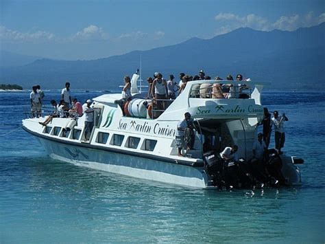 Fast Boat To Gili by Sea Marlin Fast Boat Transfer From Padang Bay East Of Bali