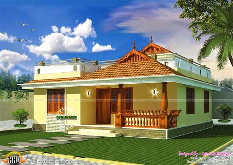 small kerala style home kerala house design kerala houses model house plan