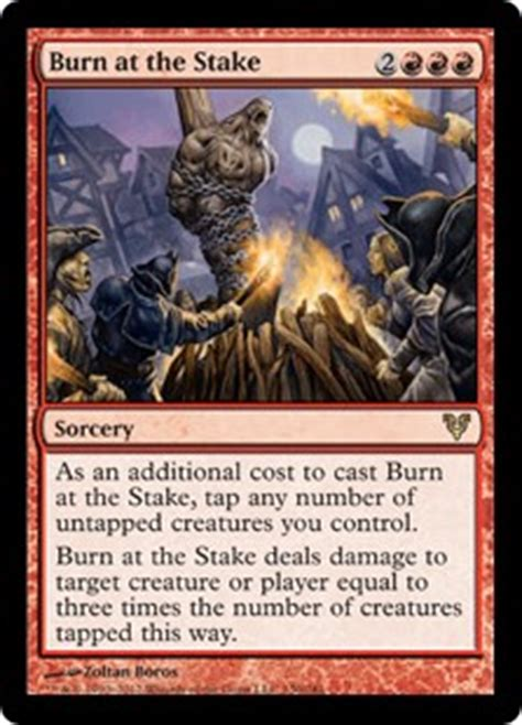 Pyromancer Burn Deck by A Pleasure To Burn Manadeprived