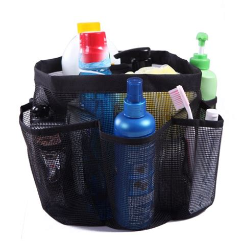 Hde Packable Mesh Shower Bag Caddy [quick Dry] Bathroom