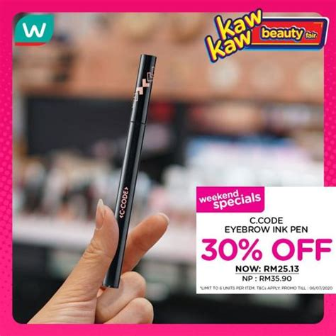 watsons cosmetics sale july july