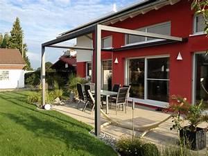 die 25 besten ideen zu sichtschutz markise auf pinterest With markise balkon mit schöner wohnen tapete blumen