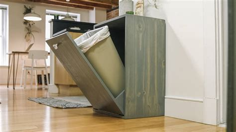 amazing ideas tilt trash bin home interior design inspirations