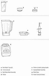 Food Processor Ninja Blender Parts Diagram