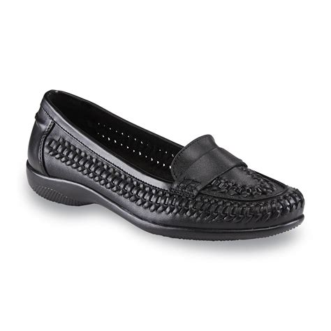 i comfort shoes at sears i comfort s leather mabel black loafer shoes