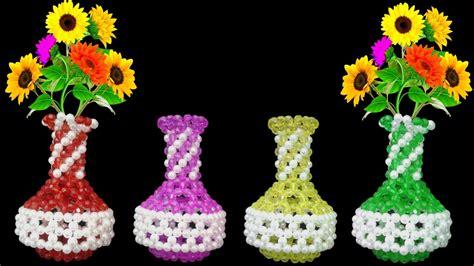 flower vase beaded flower vase flower