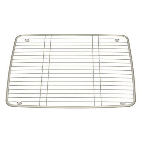 interdesign axis kitchen sink protector grid large