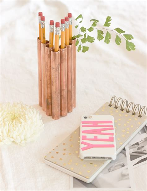 bureau rangé diy monday pencil holders ohoh