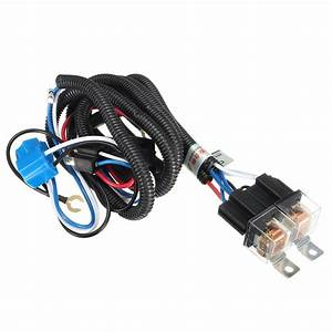H4 Headlight Plug Wiring : 12v 7inch h4 headlight 2 headlamp relay wiring harness ~ A.2002-acura-tl-radio.info Haus und Dekorationen