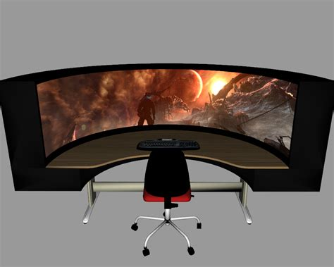 best gaming desk setup good gaming computer desks queen office pinterest