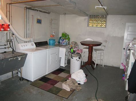 Kitchen Rug Ideas - unfinished basement laundry room flickr photo sharing