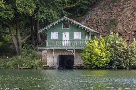 Old Boat House For Sale by Lake Front Boat House Near Princess Anne S Country Retreat