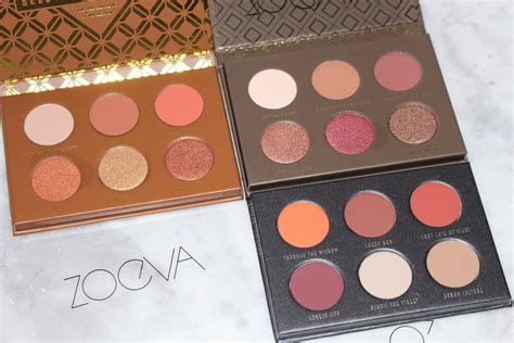 zoeva voyager collection review swatches travel editions