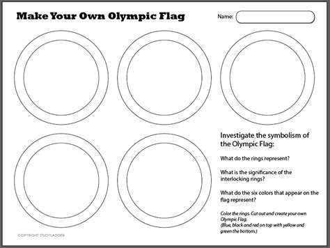 olympic flag studyladder interactive learning games