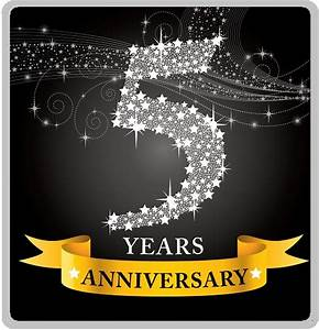 happy 5th anniversary snazzywin snazzywincom 5 year With 5 year wedding anniversary gifts
