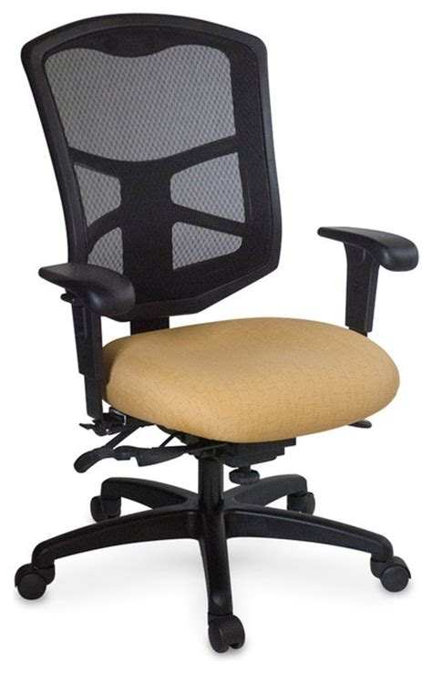 mesh high back with seat depth swivel lateral office