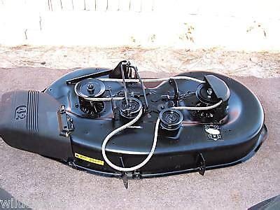 craftsman 42 quot riding lawn mower deck complete 164963