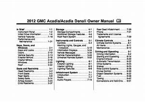 Gmc Acadia Wiring Schematic